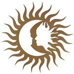 Mandala Eclipse em MDF 13x13cm - Palácio da Arte