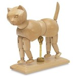 Manequim Articulado Animal Gato