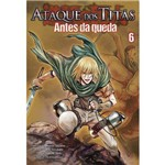 Mangá Ataque dos Titãs Antes da Queda - Volume 6