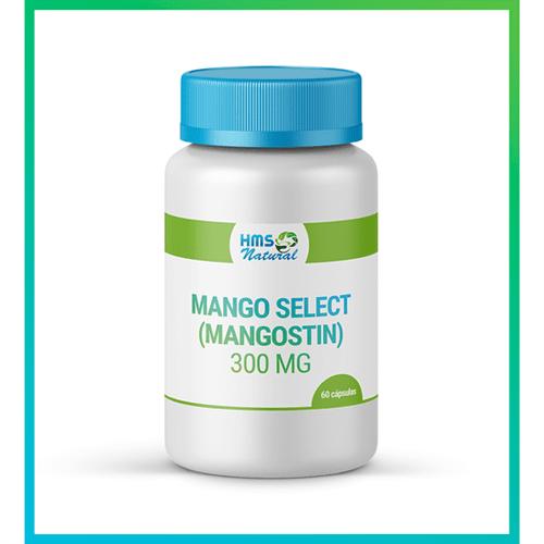 Mango Select (mangostin) 300mg Cápsulas 60cápsulas
