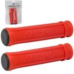 Manopla Silicone Absolute SG1 Mtb Vermelha