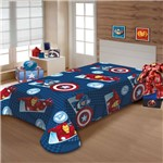 Manta Marvel Soft 1.50 X 2.00m Avengers Jolitex