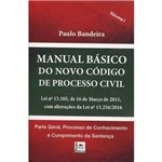 Manual Básico do Novo Código de Processo Civil