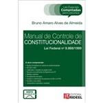 Manual de Controle de Constitucionalidade - Leis Especiais Comentadas - Rideel