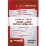 Manual de Redacao Juridica e Lingua Portuguesa para a Oab - Vol 8 - Rt