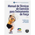 Manual de Técnicas de Exercício para Treinamento de Força
