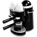 Máquina de Café e Capuccino Cadence EXP302-110 Elétrica Preto e Branco Jarra de Vidro Capacidade para 4 Cafés