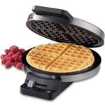 Máquina de Waffle Belga Original 1000w em Aço Cuisinart