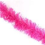 Marabu Sintético com Fios Metalizados Pink