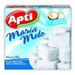 Maria-mole Apti Coco Caixa com 12 - 50gr