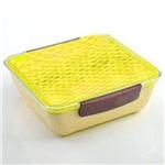 Marmita com Divisória A0389 Amarelo Basic Kitchen