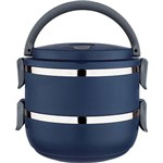 Marmita Lunch Box Azul - Euro Home