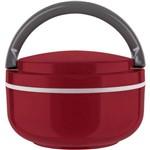Marmita Lunch Box Microondas Individual - Vermelha