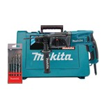 Martelete Combinado 24mm Encaixe SDS PLUS 780W + Kit 5 Brocas Concreto - Makita - 220 Volts