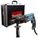 Martelete Sds-Plus 800w 2,6kg Hr2470x2 Rompedor C/ Maleta de Alumínio Makita 110v