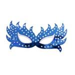 Máscara Borboleta Azul com 6 Unidades