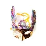 Máscara Carnaval Dourado