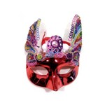 Máscara Carnaval Vermelho