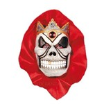 Mascara Caveira Real com Capuz