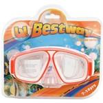 Máscara de Natação Juvenil Seascape Dive Mask 22025 Laranja - Bestway