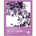 Máscara Facial Wizyoung Amethyst Collagen Essence Mask Pack