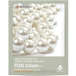 Máscara Facial Wizyoung Pearl Collagen Essence Mask Pack