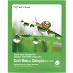 Máscara Facial Wizyoung Snail Mucus Collagen Essence Mask Pack