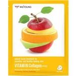 Máscara Facial Wizyoung Vitamin Collagen Essence Mask Pack
