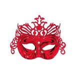 Máscara Glitter Vermelha