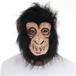 Máscara Macaco Latex com Cabelo - Sulamericana
