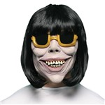 Mascara Mulher com Óculos Espelhado