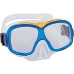 Máscara Natação Juvenil Hydro-Force Azul - Bestway