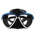 Mascara Óculos de Mergulho para Câmeras de Ação Telesin DIV-GS2 Tamanho Único Cor Branco+Azul