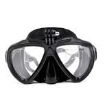 Mascara Óculos de Mergulho para Câmeras de Ação Telesin DIV-GS2 Tamanho Único Cor Preto
