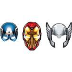 Máscara os Vingadores - 6 Unidades - Regina Festas