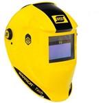 Máscara para Solda Automatica com Regulador Amarela ESAB