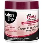 Máscara S.O.S Bomba de Vitaminas Liberada Explosão de Revitalização 500g Salon Line