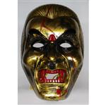 Máscara Samurai Dourada