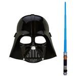 Máscara Star Wars Rebels - Darth Vader + Sabre de Luz Básico - Obi-wan Kenobi - Hasbro - Disney
