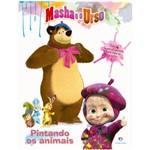 Masha e o Urso - Pintando os Animais