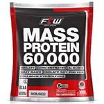 Mass Protein 60.000 3Kg Sabor Morango FTW