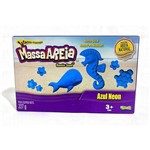 Massa Areia para Modelar Azul Neon 227g - Sunny