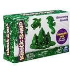 Massa Areia Verde Esmeralda Brilhante 170g - Sunny