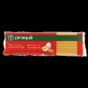 Massa com Ovos Piraquê Espaguete 500g