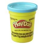 Massa de Modelar - Play-Doh - Potes Individuais 112g - Azul Claro - Hasbro - B7416/B6756