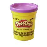 Massa de Modelar - Play-doh - Potes Individuais 112g - Roxo - Hasbro - B7561/b6756