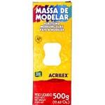 Massa Modelar Acrilex 500 G Branco 07001 - 519