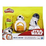 Massinha de Modelar Play-Doh Star Wars BB 8 e R2D2 - Hasbro