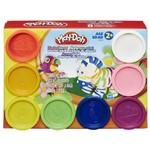 Massinha Play-doh - Arco-íris 8 Potes - Hasbro