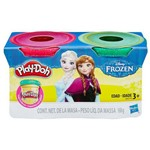 Massinha Play-doh com Glitter - Frozen com 2 Potes